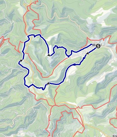 Karte / Baiersbronner Himmelsweg: Höhen-Tour