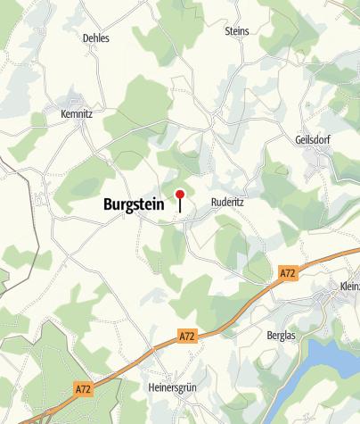 Karte / Burgsteinruinen