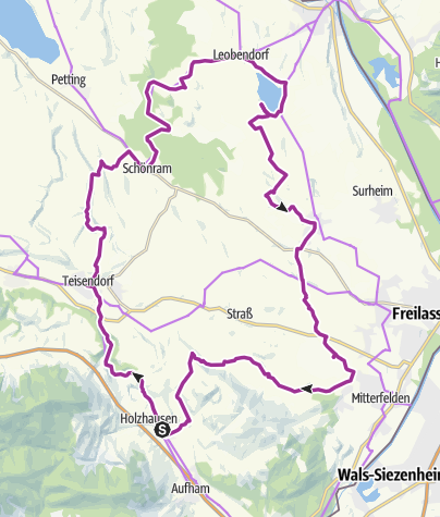 Karte / Rad: Moor und Moos-Radweg