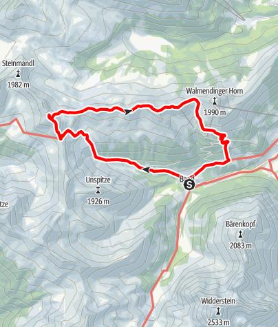 Karte / Grünhorn