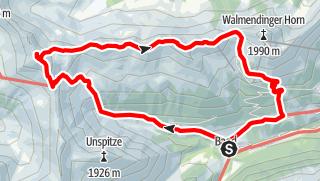 Map / Grünhorn