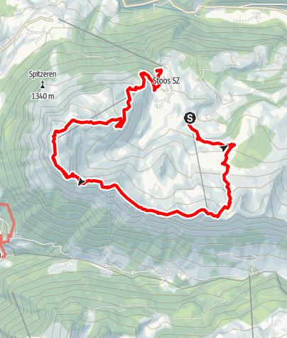 Karte / Etappe: Gratwanderweg Stoos | Schwyzer Tal- & Gipfeltour