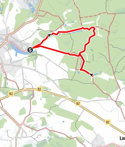 Karte / Hochmoor-Wanderweg (Route 1)