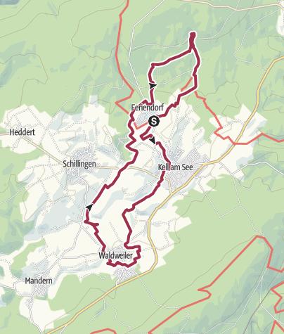 Karte / Traumschleife Hochwald Acht