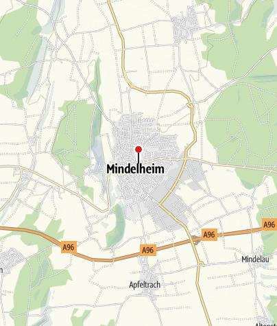 Karte / City Appartement Maximilian