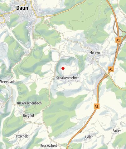 Karte / Naturfreibad Schalkenmehrener Maar