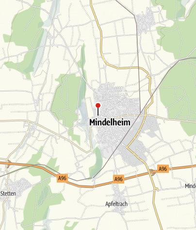 Karte / Hotel Kunstmühle Mindelheim