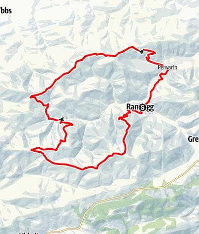 Karte / Randegger Höhenrunde