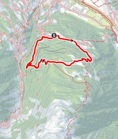 Map / Von Bitschweil auf den Horamaisäß und zurück nach Bitschweil