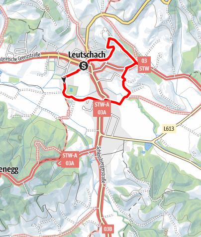 Karte / Leutschacher Ortsrundwanderweg
