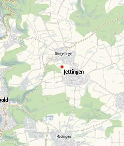 Karte / Spielplatz am Sportplatz Jettingen