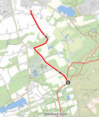 Karte / B3: Boßeln in Stukenbrock