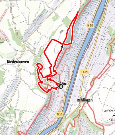 Karte / Traumschleife Wein- und Naturpfad Palmberg Ahn