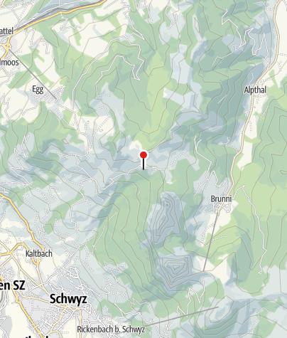 Karte / Pilgerkapelle Haggenegg