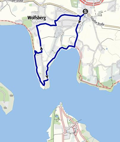 Karte / Wanderung zum König-Ludwig-Gedenkstein