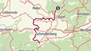 Karte / 3. Etappe - 4 Top-Wege in 3 Tagen