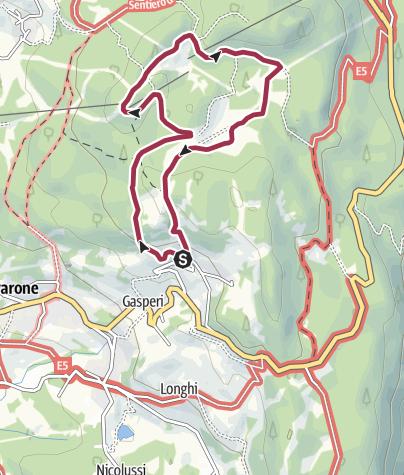 Cartina / 3 - Giro del Tablat