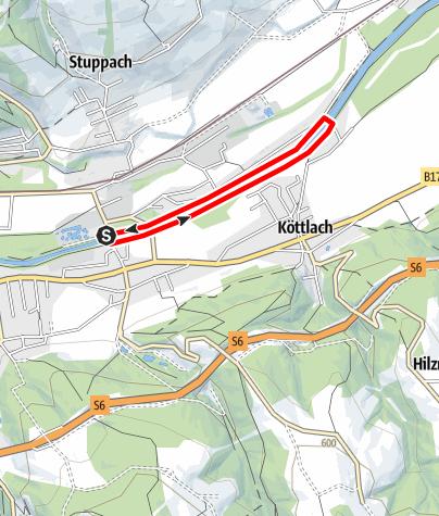 Térkép / Bewegungsarena Gloggnitz Runnersfun Runde G2
