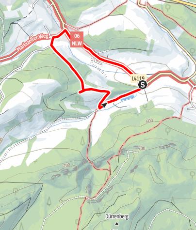 Map / Hubertusrunde - Schrattenbach