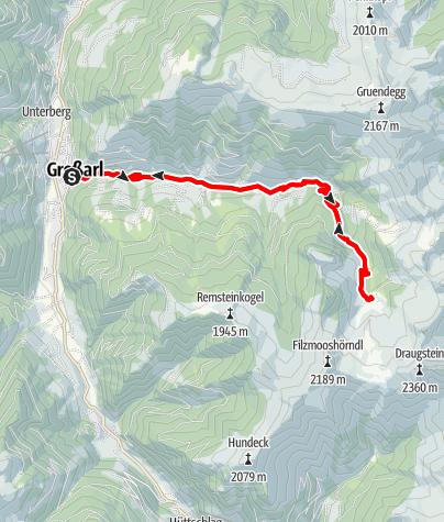 Karte / Großarl: Filzmoosalm