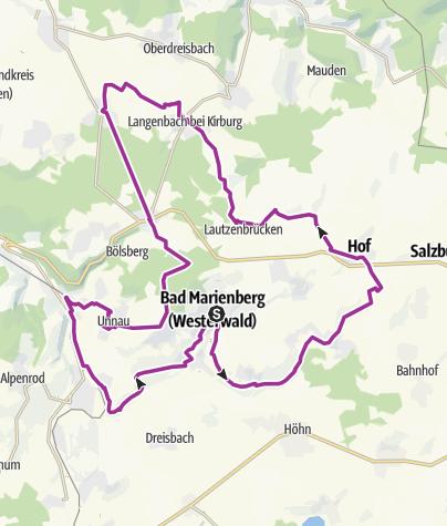 Map / Bad Marienberg Tour