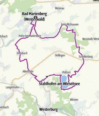 Karte / Nister Wiesensee Tour