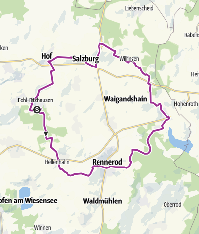Map / Fuchskauten Tour