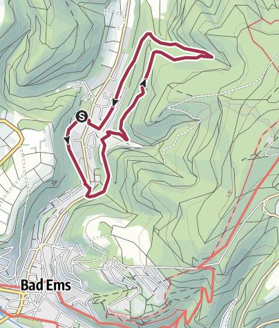 Karte / Bergbauspuren