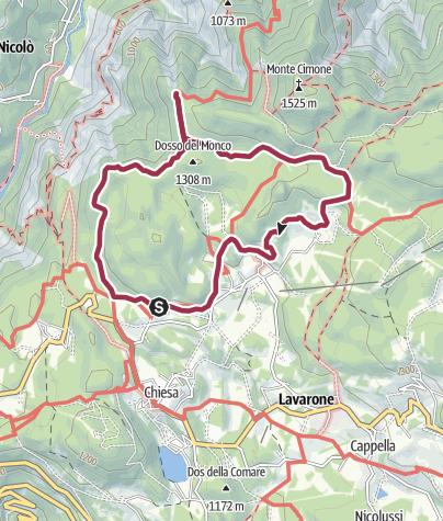 Cartina / 6 - Giro del Tomazol