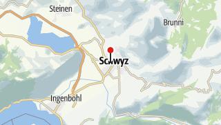 Karte / Schwyz Tourismus