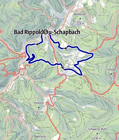 Karte / Über Steig und I-Weg