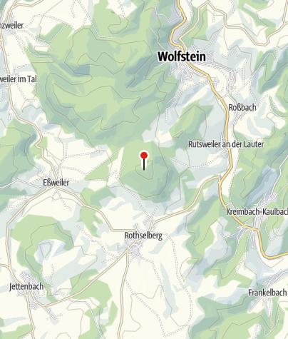 Karte / PWV-Hütte vorm Selberg Rutsweiler