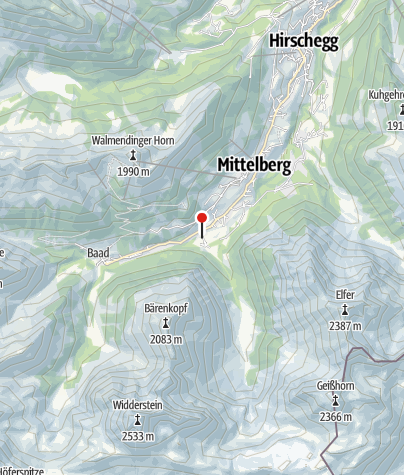 Karte / Gemstelhof-Laden