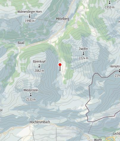 Map / Bernhard's Gemstelalp