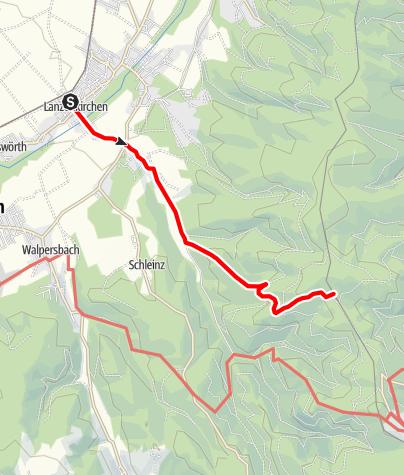 Map / Ofenbacher Weg-Lanzenkirchen-Rosalia (LA 3)