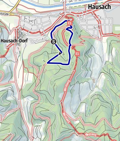 Map / Abenteuerpfad Hausach