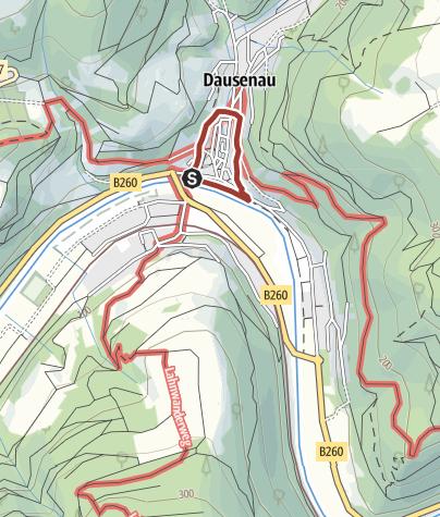 Karte / Stadtmauer-Rundgang