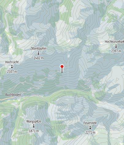 Kaart / Kasparsalpe 1695 m