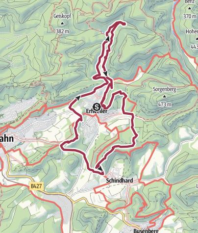 Map / Hahnfels-Tour