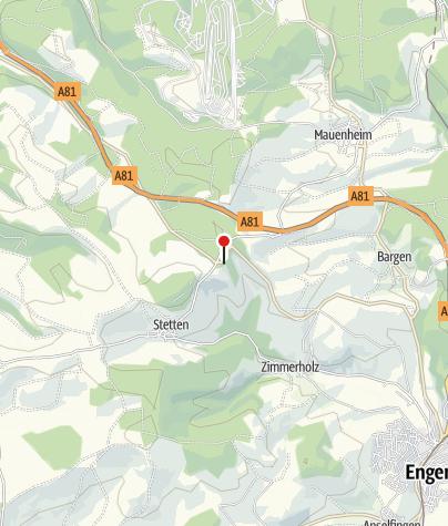 Karte / Gasthaus Hegaublick