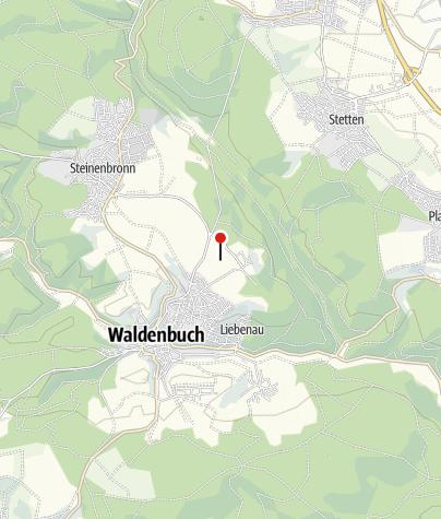 Karte / Aussichtspunkt Waldenbuch