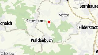 Karte / Parkplatz am Greuthau