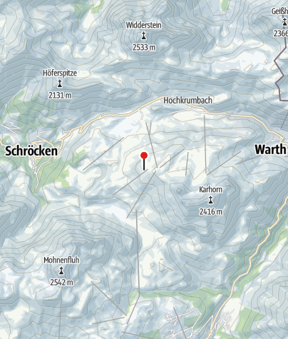 Karte / KM 12 - Lecher Höhenhalbmarathon