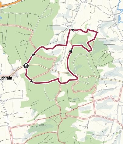 Karte / Buch am Buchrain Wanderweg B 2-3 - Rund um Kaltenbach und zum Richinger Berg