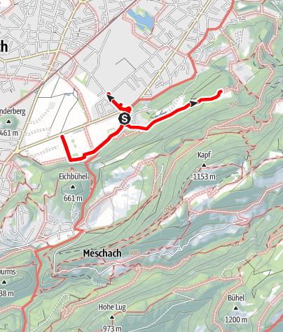 Karte / Industrie im Schwefel und Jüdischer Friedhof