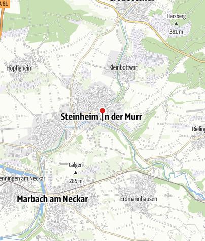 Karte / Urmensch-Museum