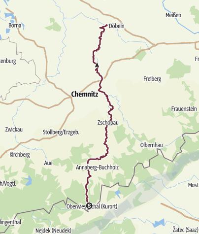 Map / Zschopautalweg