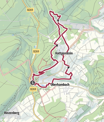 Karte / Traumschleife Rund um den Zauberwald