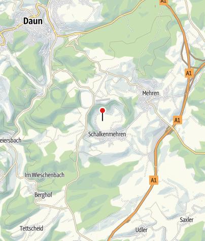 Map / Schalkenmehrener Maar