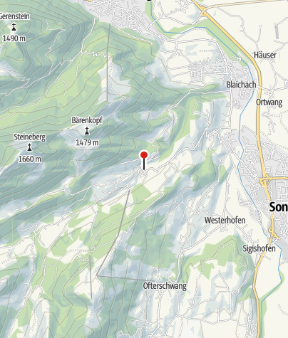 Map / Alpine dairy Gunzesried